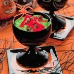Monster boogie green rice pudding recipe for Halloween